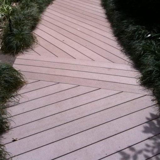 Eco decking- fencing alternative