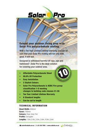 Solarpro Brochure
