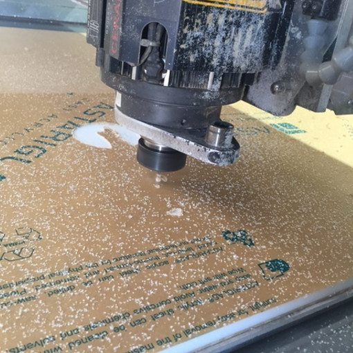 CNC Routering of Acrylic