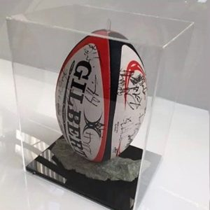 Acrylic Display Box - signed football