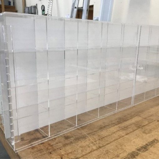 Acrylic Display Units -Bulk Order- fabricated with Precision