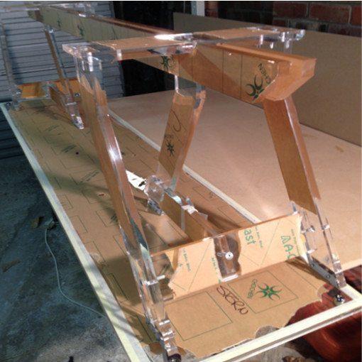 Plexiglas-stand-fabricated-to-hold-waka-display-case