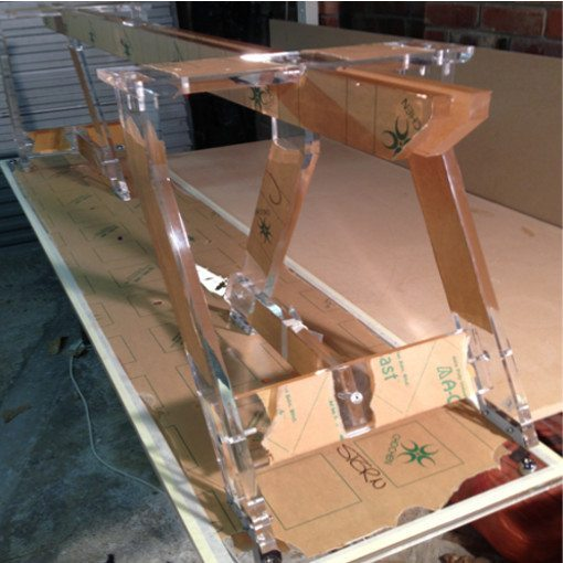 Plexiglas-stand-fabricated-to-hold-waka-display-case