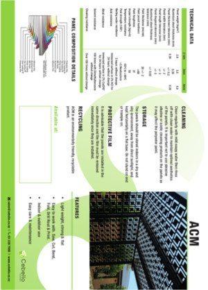 ACM ( Aluminium Composite Material)